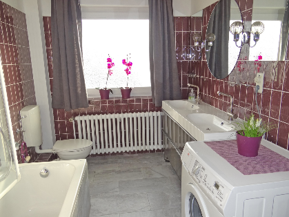 Badewanne, Waschmaschine
